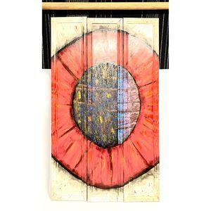 Red Eyeball Painting Wall art